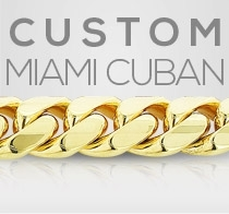 Custom Yellow Gold Miami Cuban Bracelet Gold