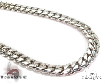 Custom White Gold Miami Cuban Link