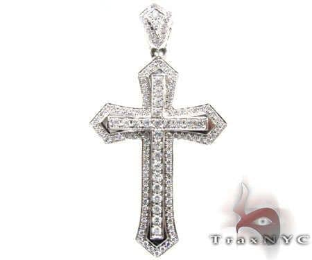 Roman Cross Crucifix 2 Diamond