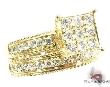 YG Ava Wedding Ring Set 11231 Style