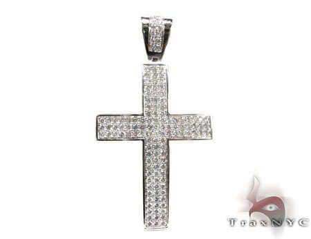 Pilot cross crucifix 3 Diamond