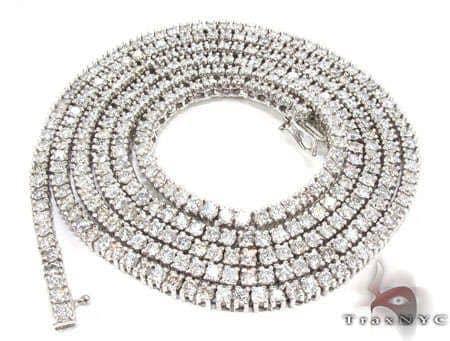 Stunner Chain 32 Inches, 4mm, 43.80 Grams 15466 Diamond