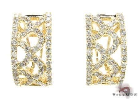 YG Retro Earrings Stone