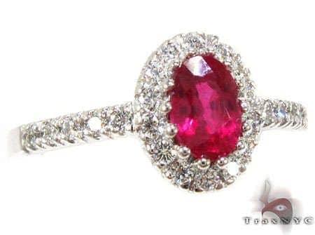 Mini Ruby Island Ring Anniversary/Fashion