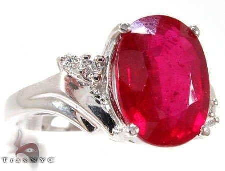 Ruby Dip Ring Anniversary/Fashion