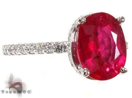 Ruby Lollipop Ring 2 Anniversary/Fashion