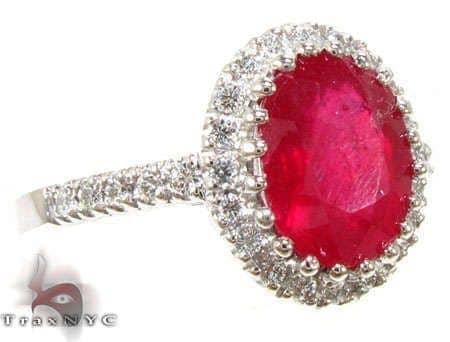 Ruby Island Ring 5 Anniversary/Fashion