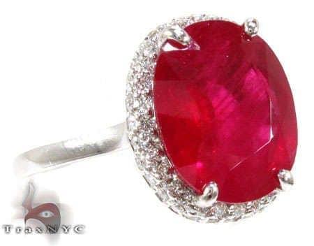 Ruby Island Ring 4 Anniversary/Fashion