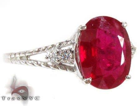Ruby Rope Ring Anniversary/Fashion