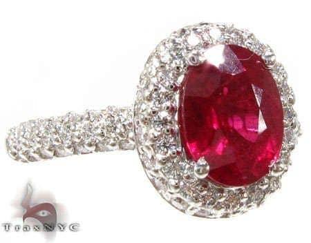 Ruby Island Ring 3 Anniversary/Fashion