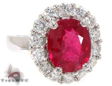 Ruby Island Ring Anniversary/Fashion