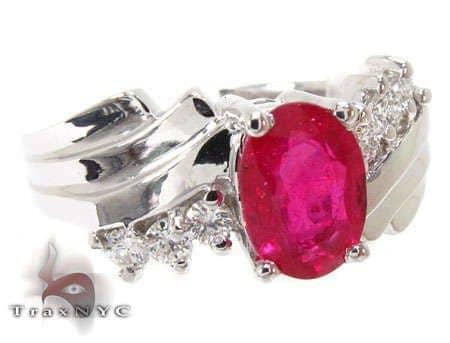 Majestic Ruby Ring Anniversary/Fashion