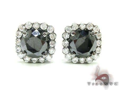 Mens Diamond Stud Earrings