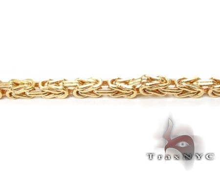 YG Byzantine Chain 24 Inches, 2mm, 7.20 Grams Gold