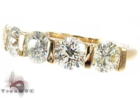 Five Stone Infinite Ring Wedding
