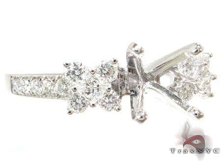Butterfly Semi Mount Ring 2 Engagement