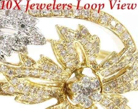 Iced Daffodils Bracelet Diamond