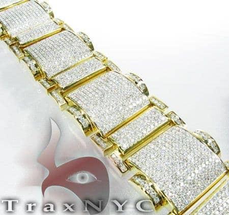Round Cut XXL Bracelet Diamond