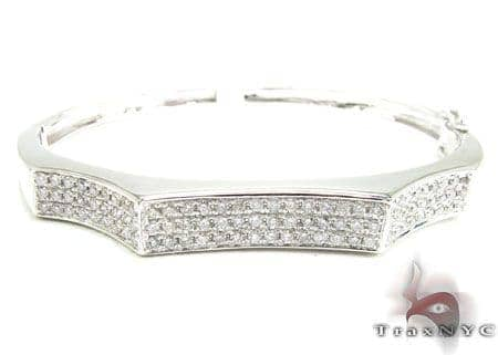 Fierce Bangle Bracelet Diamond