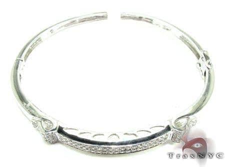 Elektra Bangle Bracelet Diamond