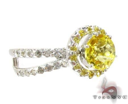 Diamante Yellow Diamond Ring Engagement