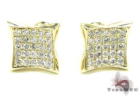 YG Rook Earrings Stone