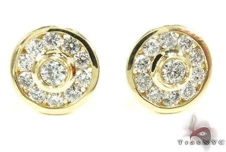 YG Brazilian Earrings Stone