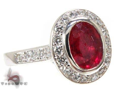 Glotia Ruby Ring Anniversary/Fashion