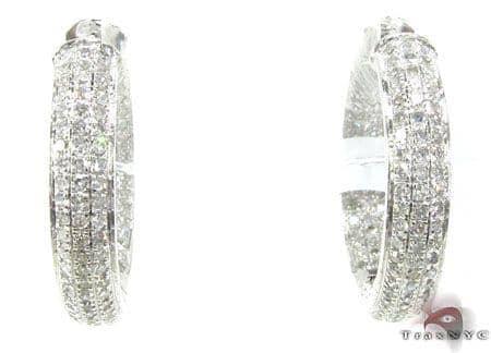 WG Fiji Hoop Earrings 4 Stone
