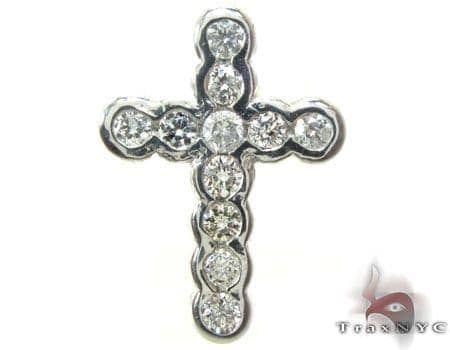 Ladies Everglades Cross Crucifix Diamond