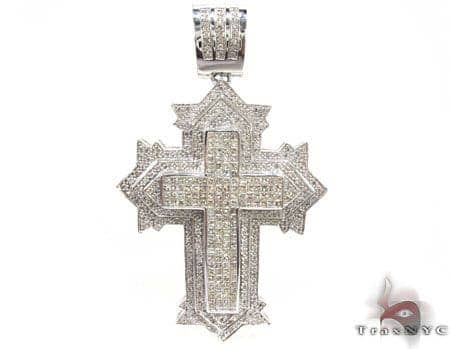 XL Spartan Cross Crucifix Diamond