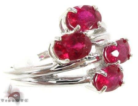Ruby Bouquet Ring Anniversary/Fashion