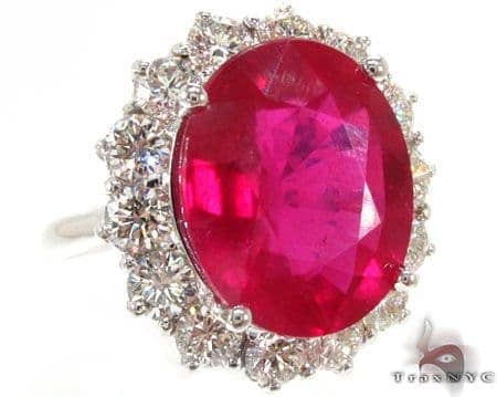 Ruby Island Ring 6 Anniversary/Fashion