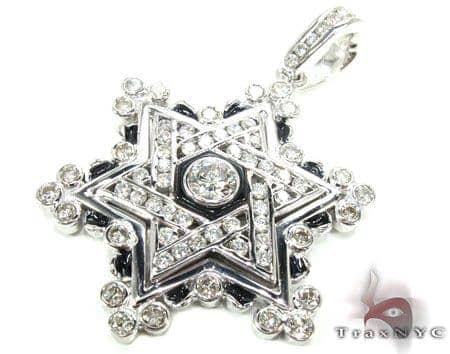 WG Czar's Star of David Metal