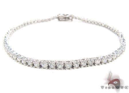 14K Gold Diamond Tennis Bracelet Diamond