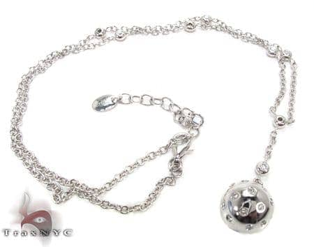 Diamond Ball Necklace Stone