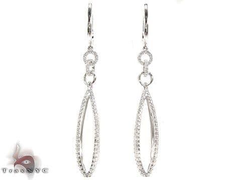 Twirl Chandelier Earrings Stone