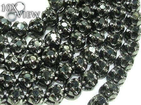 Black Diamond Chain 26 Inches, 4mm, 37 Grams Diamond