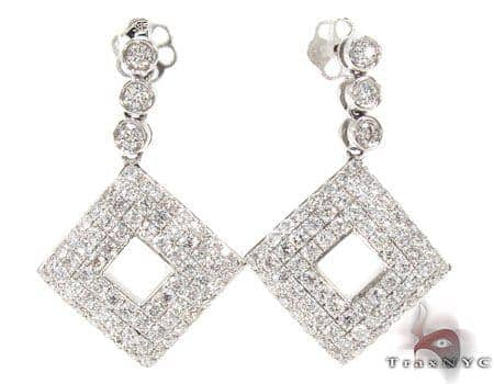 Bezel Wonder Earrings  Stone