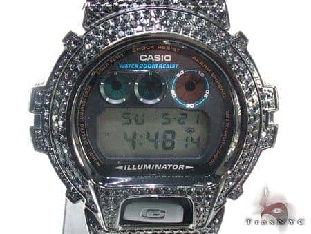Black CZ G-Shock Watch G-Shock