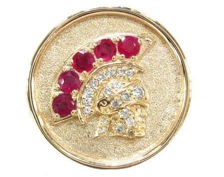 Warrior Ring 18732 Stone