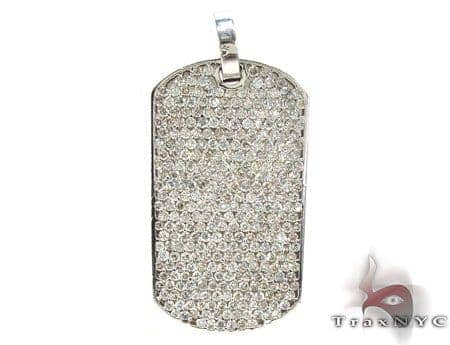 Iced Dog Tag Metal
