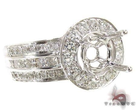 Ladies Semi Mount Ring 18949 Engagement
