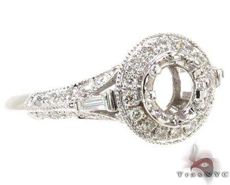 Ladies Semi Mount Ring 18950 Engagement
