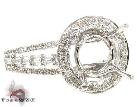 Ladies Semi Mount Ring 18954 Engagement