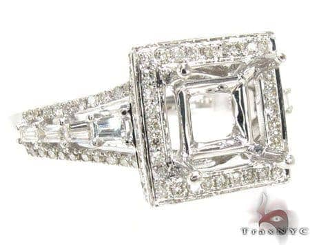 Ladies Semi Mount Ring 18955 Engagement