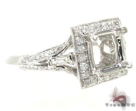 Ladies Semi Mount Ring 18960 Engagement