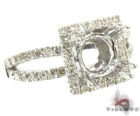 Ladies Semi Mount Ring 18966 Engagement
