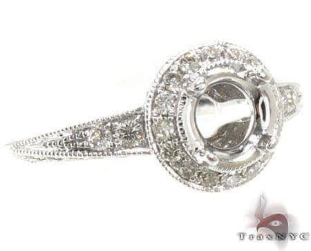 Ladies Semi Mount Ring 18970 Engagement