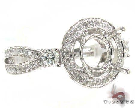 Ladies Semi Mount Ring 18975 Engagement